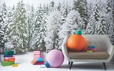 Forget tinsel and trees: deck the halls with bolder baubles this Christmas