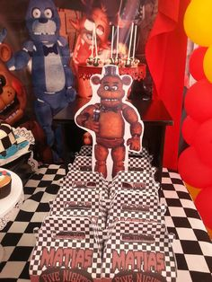 Five Nights At Freddy¨s Birthday Party Ideas | Photo 1 of 13 | Catch My Party