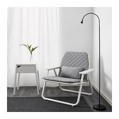 IKEA - IKEA PS 2017, Folding armchair, Comfortable to sit in, and as neat when you get up as when you sat down, since the pads have snaps to hold them in place.Easy to fold up and set aside when you need to free up space.