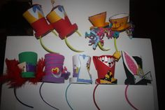 Alice in Wonderland party favors. $24.00, via Etsy.