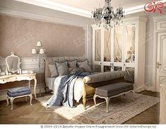 Дизайн спальни, фото интерьера - http://www.ok-interiordesign.ru/ph18_bedroom_interior_design.php