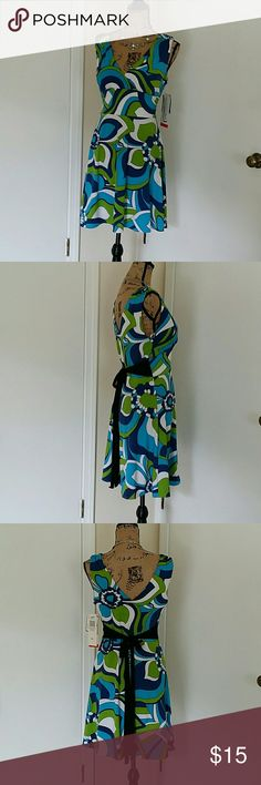 NWT SIZE L BREAKIN LOOSE DRESS Polyester and spandex dress with a built in bra. Breakin loose Dresses Mini