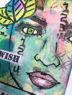 Addicted to Art: Tag Friday - it's a bright one! Journalling, Art Blog, Altered Art, Addiction, Card Making, Friday, Stamp, Bright, Cards