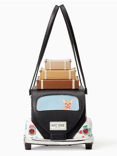 scenic route car bag, multi, large - Best my deas Unique Handbags, Unique Purses, Unique Bags, Cute Purses, Purses And Handbags, Novelty Handbags, Novelty Bags, Kate Spade Handbags, Kate Spade Bag