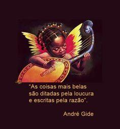 Poesias, Mensagens, Flores e Artes: Andre Gide