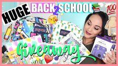 HUGE Back to School Giveaway | Open International | 2 Winners | Blush Di...