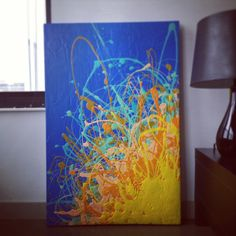 latex on canvas. for sale on etsy.   shop: goodgravygreta