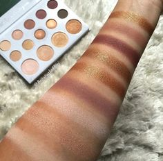 Carli Bybel Palette Swatches | From BH Cosmetics | 12$50 | I got it and you ?