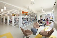 Biblioteca Infantil Discovery Center / 1100 Architect