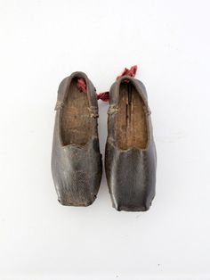 1800s childrens leather shoes