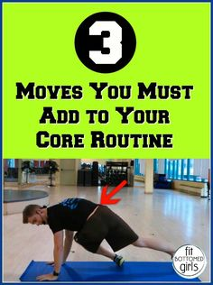 3 moves you gotta add to your core workout, stat! | Fit Bottomed Girls