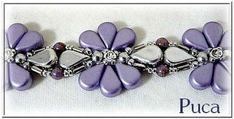 BeadSmith Exclusive Bead Store Patterns - Connie Bracelet