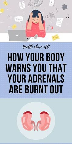 How Your Body Warns You That Your Adrenals are Burnt Out - New Ideas Fitness Diet, Wellness Fitness, Muscle Fitness, Physical Fitness, Emotional Stress, Stress And Anxiety, Juicing For Health, Health Cleanse, Self Treatment