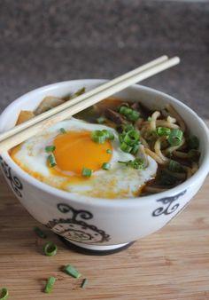 Beef Ramen with Egg