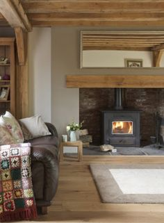 Say yes to a wood burner! #FADSWinterWarmer #winter