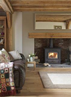 Say yes to a wood burner! #FADSWinterWarmer #winter