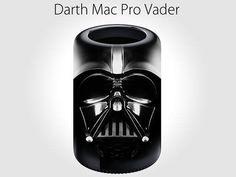 Darth Mac, paródia do novo design do Mac Pro com o personagem Darth Vader
