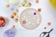 Try this DIY: bridal shower invitation project to save money on your big day.