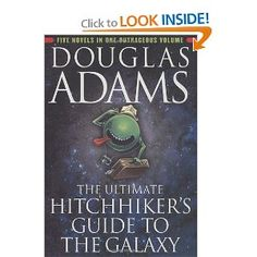 The Ultimate Hitchhiker's Guide to the Galaxy: Douglas Adams,Neil Gaiman. Amazon.com: Books. Funny Stuff with a British accent
