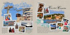 Barbara's Cre8ive Escape: A couple more vacation album pages from this weekend!