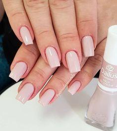 Nail polish color trends for summer 2019 Unhas Decoradas Sns Nails Colors, Love Nails, Fun Nails, Short Nail Designs, Nail Art Designs, Gorgeous Nails, Pretty Nails, Matte Nails, Acrylic Nails