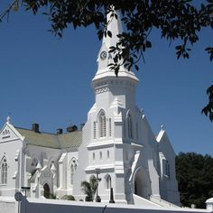 Whitest of the White (Malmesbury, South Africa). Photo by Marie Theron. Sa Tourism, Old Time Religion, Cathedral Church, St Helena, Church Building, Mosques, Cathedrals, Kirchen, Countries Of The World
