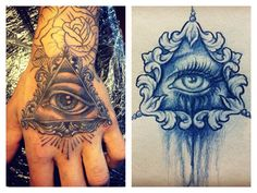 Illuminati tattoo