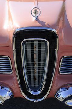 1958 Edsel Pacer Grille Photograph by Jill Reger -