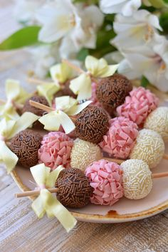 39 ideas cake pops birthday party sweets for 2019 Cake Pops, Cupcake Cakes, Mini Cakes, Cake Cookies, Cake Decorating, Decorating Ideas, Birthday Parties, Cake Birthday, Birthday Ideas