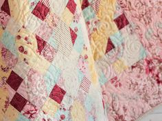 Candy Necklace Quilt Kit by Monique Dillard featuring Boundless In Bloom Fabric