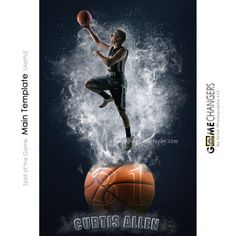 Spirit of the Game Main Photoshop Template Basketball Sports Baseball, Basketball, Volleyball Cheers, Cheer Pom Poms, Different Sports, Vinyl Banners, All Games, Game Changer, Sports Equipment
