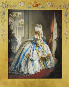 """The Countess di Castiglione portrayed as """"The Marquise Mathilde"""" Painted Photograph 1861-1866.Virginia Oldoini, Countess di Castiglione (1837-1899), was an Italian courtesan & secret agent who achieved notoriety as mistress of Emperor Napoleon III of France. She was a significant figure in the early history of photography as a collaborator of photographer Pierre-Louis Pierson. She commissioned hundreds of portraits of herself, many of them intricately handpainted & went bankrupt in the…"""