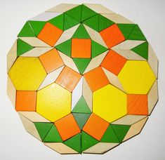 Pattern Block Dodecagons | www.MathEdPage.org