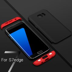 Sale S7 Edge Case GKK Tough Double Dip 360 Full Protection Case For Samsung Galaxy S7 Edge. Click visit to check price