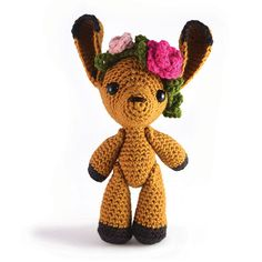 Flora the Fawn - Zoomigurumi 3 (Amigurumipatterns.net 1 Books - Zoomigurumi, Amigurumi Winter Wonderland & Amigurumi Animals at Work)