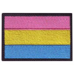 BACKING: Sew-On, Hook Fastener or Iron On. This is forONE patch of your choice. The patches are embroidered. Lgbtq Flags, My Babysitter, Gay Pride, Pride Flag, Pansexual Pride, Rainbow Flag, It Gets Better, Pin And Patches, Patches