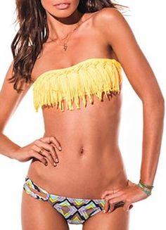 love this frilled bandeau bikini http://rstyle.me/n/hr7ver9te