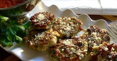 Italian Chicken Poppers--lol, Bariatric Eating. Whatever, I'll take it.