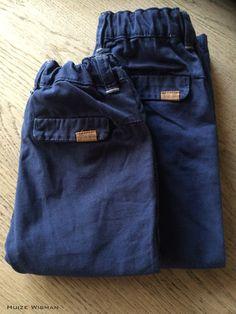 Blauwe chino's Zara