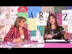 Sublimación sobre madera - Rosana Ovejero en ArteZ - YouTube