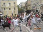 Monastiraki Hobo illusionerz Flash Mob photos plus .backstage, sponsored by Creative People One Image, Creative People, Backstage, Street View, Photos, Pictures