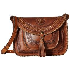 See this and similar Patricia Nash shoulder bags - Deep embossed designs make for impeccable details on this Patricia Nash Beaumont Flap cCrossbody bag. Made of...