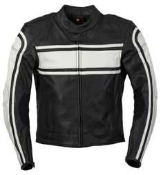 Furygan akira leather jacket black&white sexual orientation