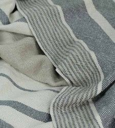 """50x80"""" Cottolin blanket, plain weave. Easy enough to do in doubleweave. Brook Farm General Store sells 'em for $225."""