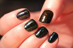 Polish All the Nails: Review: Can't Get Finger Paints Special Effects? Get Ludurana Flakies Instead!