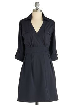 So simple, but so lovely! Would look super cute with big necklace, tights, and a cute pair of boots!