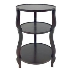 Stylish transitional Hickory Chair dark wood atelier three tier accessory table, showroom floor sample, original retail $1125 #CheapWoodFlooring Bamboo Laminate Flooring, Cheap Wood Flooring, Flooring Store, Best Flooring, Table Furniture, Home Furniture, Bedroom Decorating Tips, Hickory Chair, Amazing Bathrooms