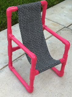 PVC kids chair ideas...