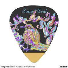 Song Bird Guitar Pick