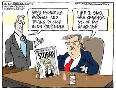 The News in Cartoons - Dan Wasserman/Tribune Content Agency Political Quotes, Political Art, Political Cartoons, Political Corruption, Trump Cartoons, Free Cartoons, Satire, Comic Strips, Cool Words